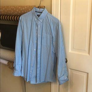 Saks shirt Johnie-O size L